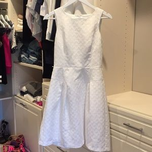 Cute white dress. White House Black Market. Size 2